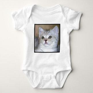 Gray Kitten baby shirt