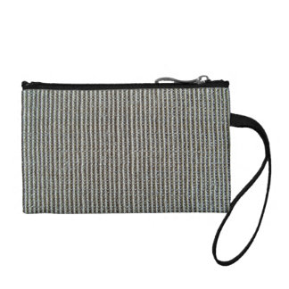 Gray Knitted Fabric Texture Coin Wallets