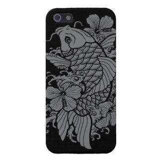 Gray Koi Fish iPhone SE/5/5s Cover