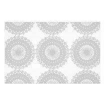 Gray Lace Design Pattern. Flyer