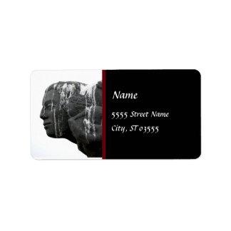 Gray Lady Address Label