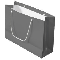 Gray Large Gift Bag