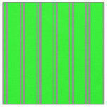 [ Thumbnail: Gray & Lime Striped/Lined Pattern Fabric ]