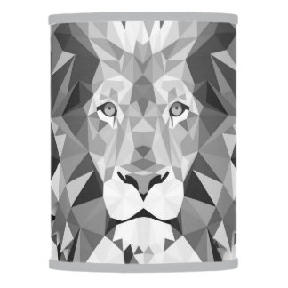 Gray Lion Lamp Shade