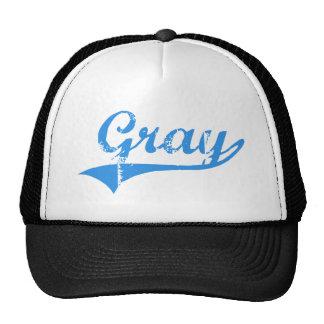 Gray Maine Classic Design Hat