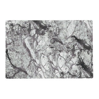 Gray Marble Look Placemat