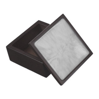 Gray Marble Texture Jewelry Box