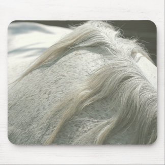 Gray Mare Mane II Mouse Pad