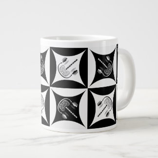 Gray Matter in the Hole in the Barn Door Large Coffee Mug
