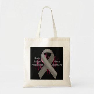 Gray Matters - Brain Tumor Awareness - Bags