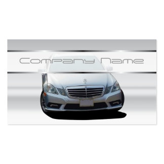Gray Mercedes Benz Business Cards
