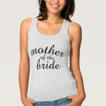 Gray Mother of the Bride Tank Top
