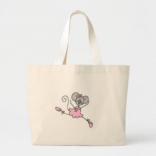 Gray Mouse Ballerina Bag