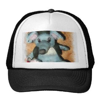 Gray mouse trucker hat