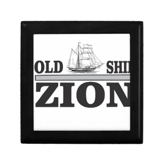 gray old ship zion keepsake box