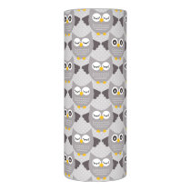 Gray Owls Flameless Candle