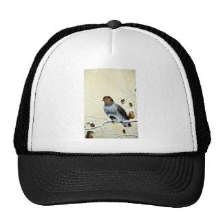 Gray partridge trucker hat