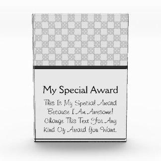 Gray Patchwork Pattern Award