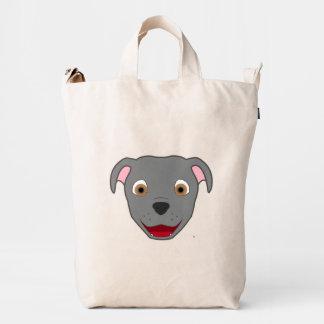 Gray Pitbull Duck Bag