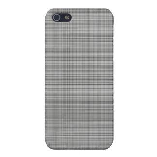 Gray Plaid Case iPhone 5 Cases