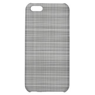 Gray Plaid Case iPhone 5C Cover