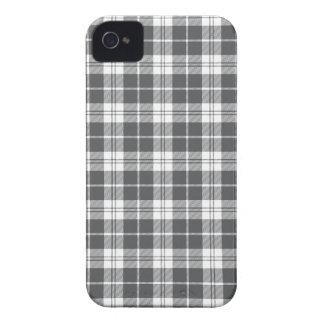Gray Plaid iPhone4s Case