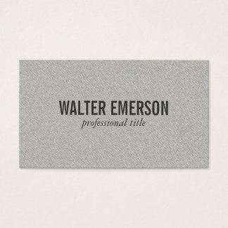 Gray Plus Pattern Business Card