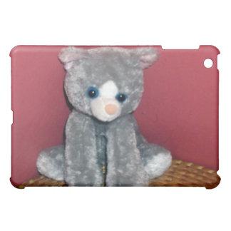 Gray Plush Toy iPad Mini Cases