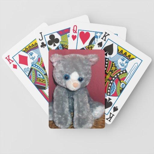 Gray Plush Toy Poker Deck