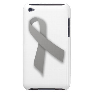 Gray Political Statement Awareness Ribbon iPod Touch Cases