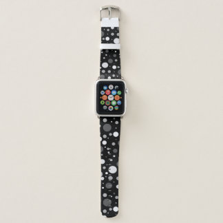 Gray Polka Dot Apple Watch Band
