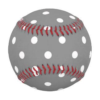 Gray Polka Dot Baseball