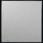 "Gray Polka Dot Cloth Napkin<br><div class=""desc"">Gray Polka Dot</div>"
