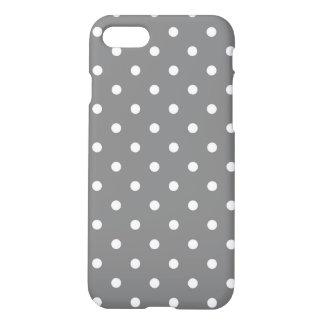 Gray Polka Dots iPhone 8/7 Case
