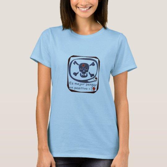 Gray positive Calaberilla T-Shirt