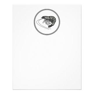 Gray Prawn - Fish Prawn Crab Collection Flyer
