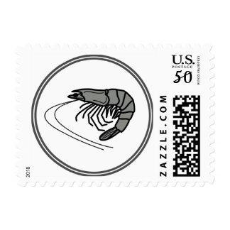 Gray Prawn - Fish Prawn Crab Collection Postage