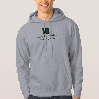 Gray Pull Over Hoodie WEEAC Logo