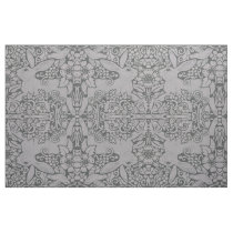 Gray Rabbit Fabric Exclusive Original Design Art