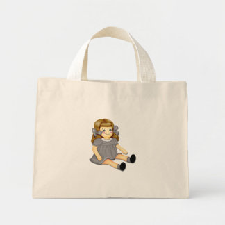 Gray Rag Doll Bags