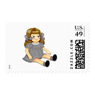 Gray Rag Doll Stamps
