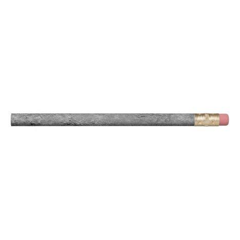 Gray Raw Concrete/Cement Mock-Texture Pencil