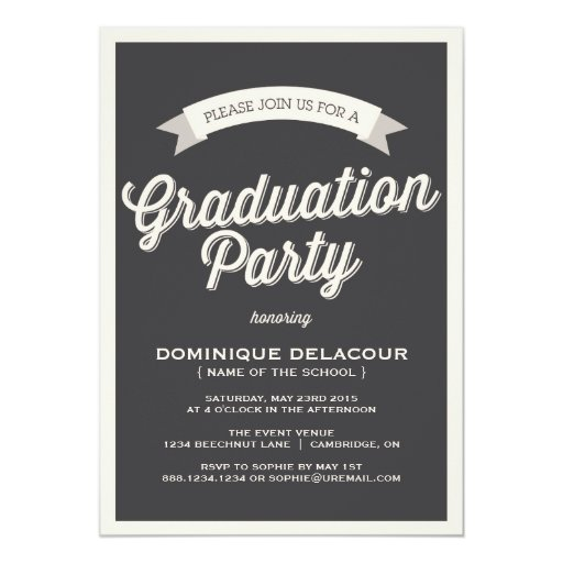 College Graduation Party Invitations Templates with luxury invitations sample