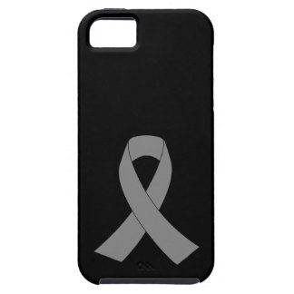 Gray Ribbon Awareness - Zombie, Brain Cancer iPhone 5 Covers