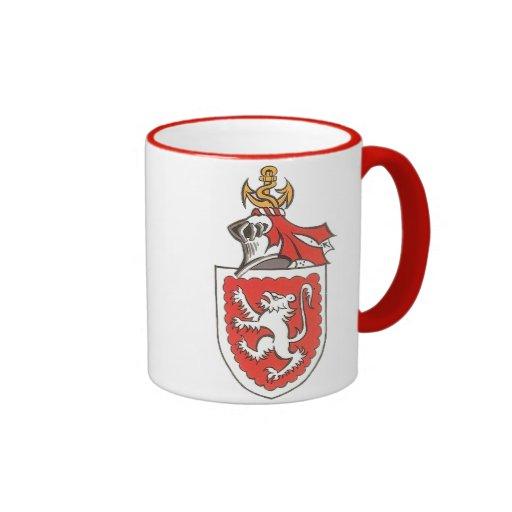 Gray Ringer Mug