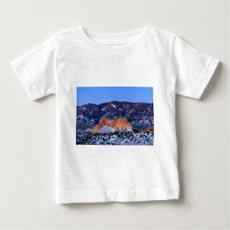 Gray Rock at Sunrise Baby T-Shirt
