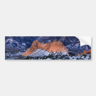 Gray Rock at Sunrise Bumper Sticker