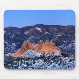 Gray Rock at Sunrise Mouse Pad