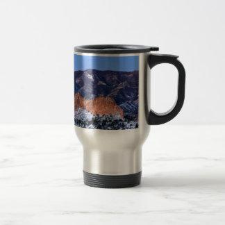Gray Rock at Sunrise Travel Mug