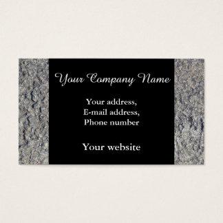 Gray Rough Concrete Texture 060 Business Card